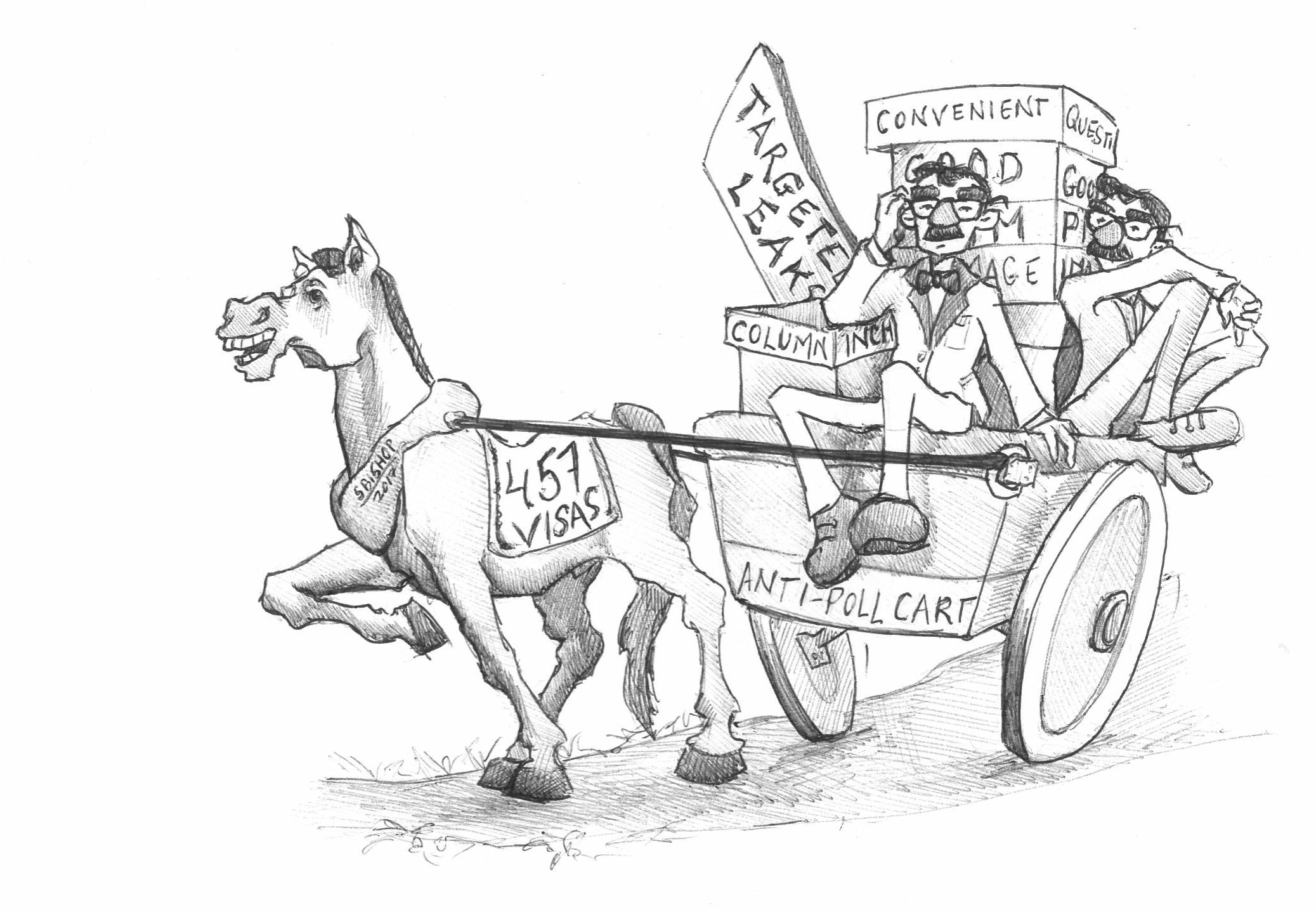 A horse for your communications wagon
